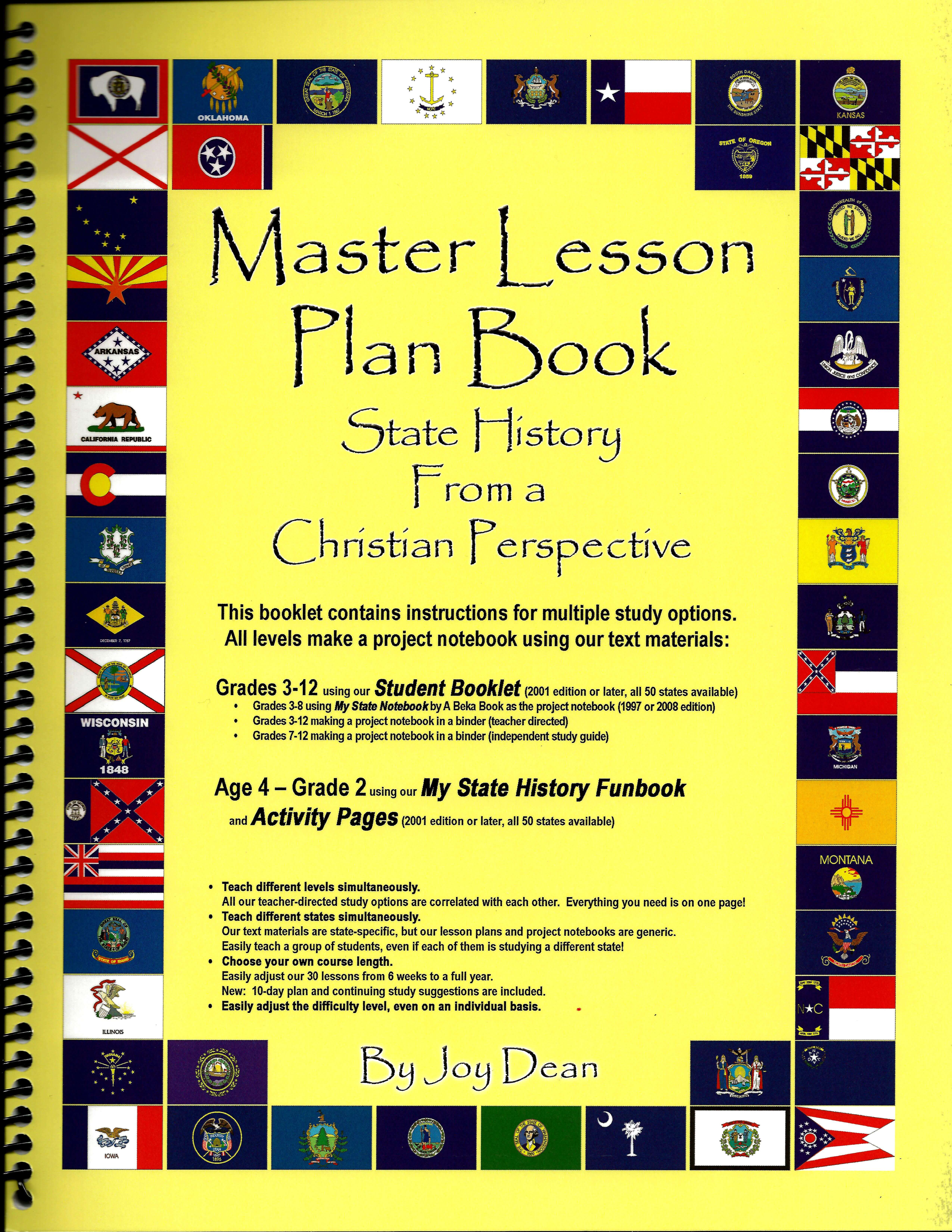 State History From A Christian Perspective For Grades 3 12 State
